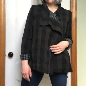 Top shop draped jacket size small